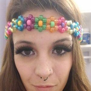 Kandi flower headband